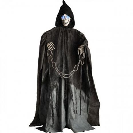 Decorative Prop Decoration Standing Skeleton with Sound